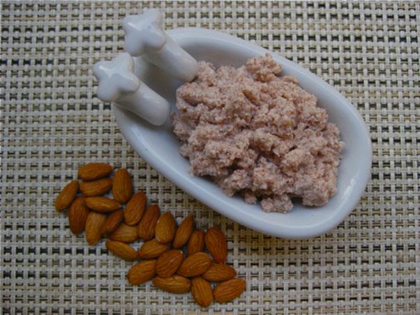 Homemade Facial Almond Scrub