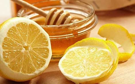 Honey and Lemon Scrub