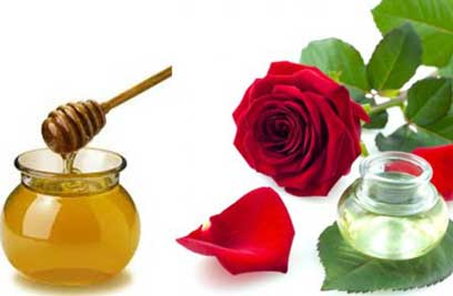 Honey and Rose Water Face Pack