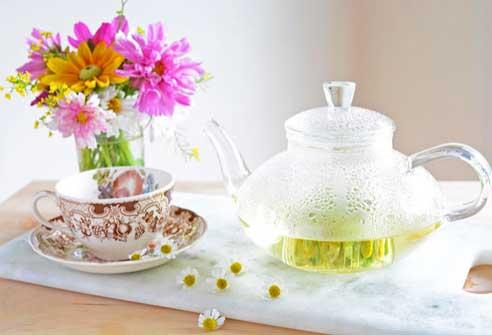 Prepare Chamomile Tea