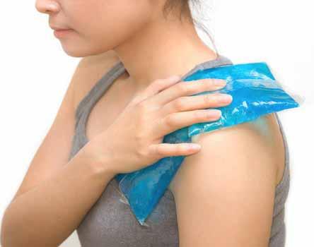 ice home remedies to treat the prickly heat rash