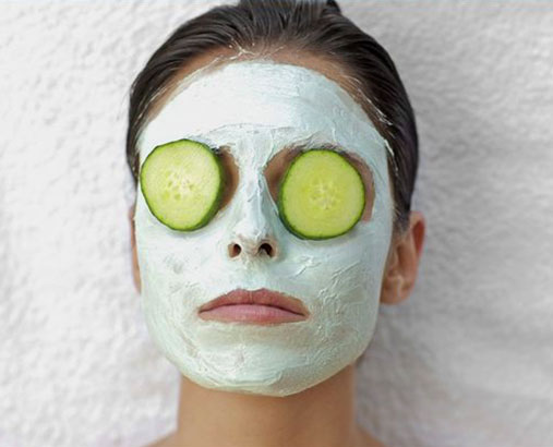 Ingredients for Smooth Skin Cucumber Remedy