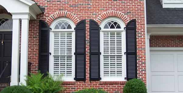 The Interior and Exterior Shutters to keep House Cool