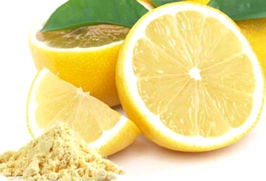 Chickpea flour and Lemon