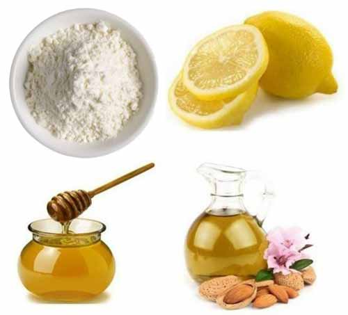 Milk Powder Honey Almond Oil Remedy