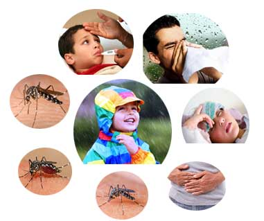 Common Monsoon Related Diseases