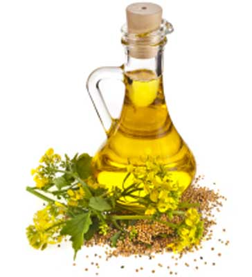 Mustard oil helps in lightening the skin tone
