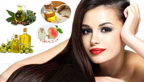 Natural hair Oil Beautiful, long, shiny and bouncy hair
