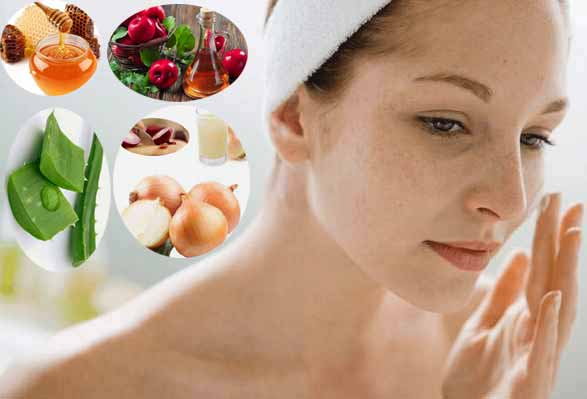 Natural Ways to Treating Scars and Dark Spots on Legs and Face