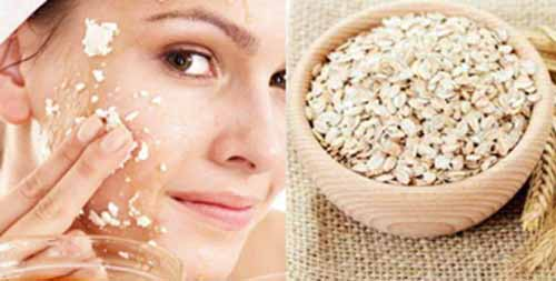 Oats are natural exfoliator