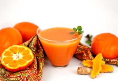 Orange with Turmeric