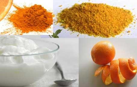 Orange with Yogurt