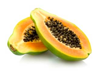 Miracle fruit used for oral sex, light black skin nude