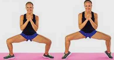 Pile Squat to Calf Raise
