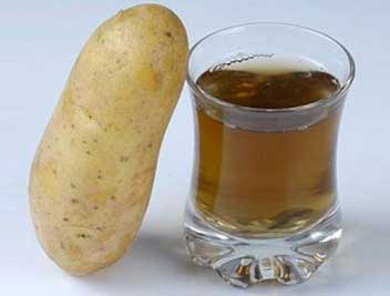 Potato Juice Home Remedies that help Boost Hair Growth