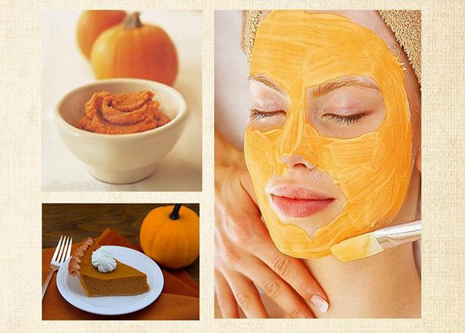 Pumpkin Pulp Face Pack