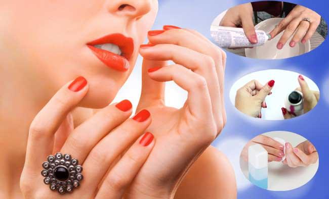 Remove Nail Polish Simply