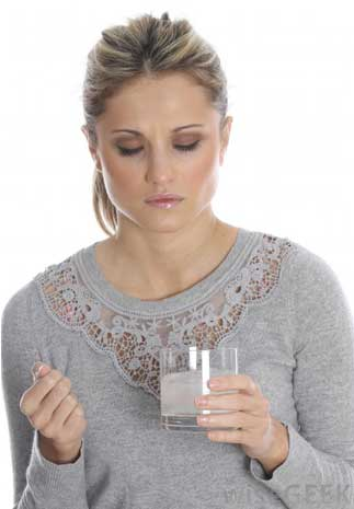 Rinse with saline-
