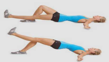 Single – Leg Glute Bridge