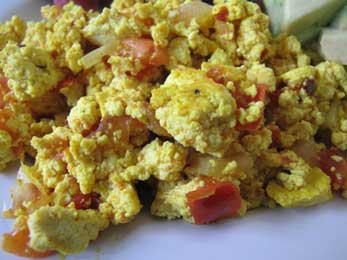 South of the Border Tofu Scramble