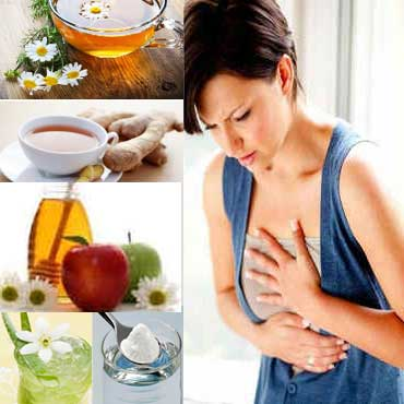 Tips Remedies for Prevent Heartburn Naturally