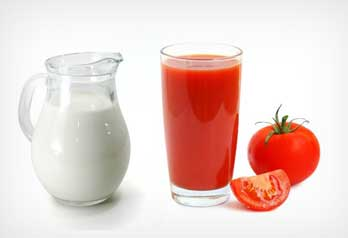 Tomato Juice Glycerine Lemon Jjuice Solution