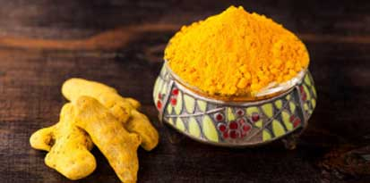 Turmeric has antiseptic properties that takes care of white spots