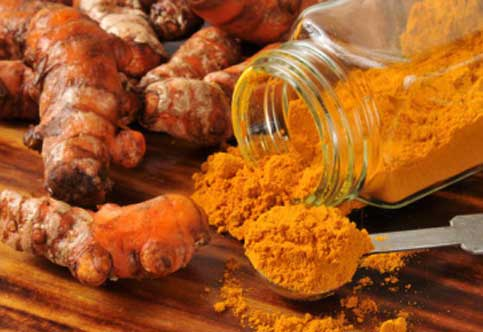 Turmeric is antiseptic in nature and builds up immunity