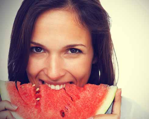 Eating Watermelon Skin and Body Health