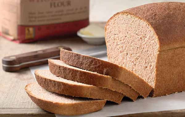 Whole grain bread to treat sleeplessness