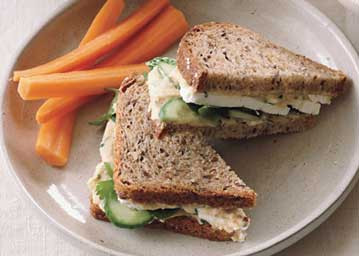 Whole-wheat Bread Sandwich