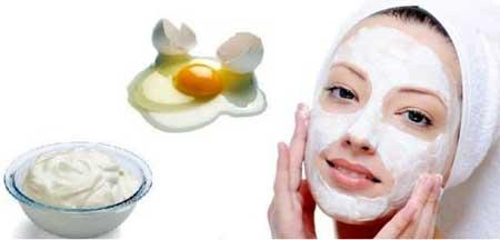 Yogurt and Egg Mask
