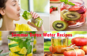 Beautiful Skin Detoxifier/ Summer Detox Water Recipes: You Must Intake To Glow Inside-Out