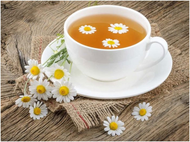 Chamomile Tea Natural Muscle Relaxer