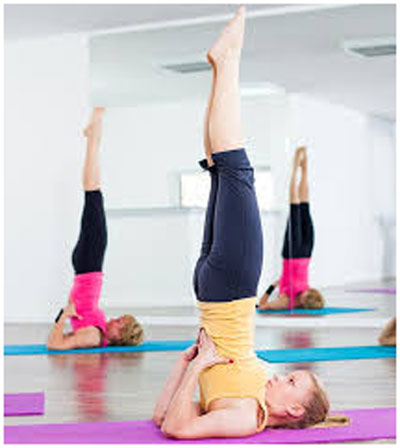 Sarvangasana (The Shoulder Stand Pose)For Hypothyroidism