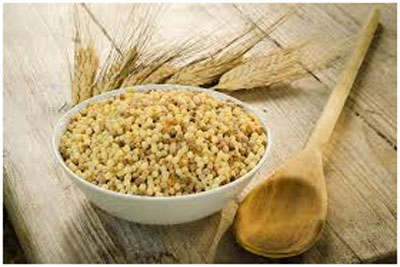 Semolina has antioxidant properties that prevents the attack of free radicals