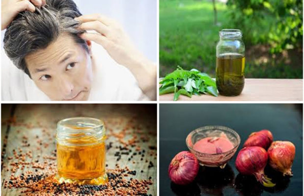 How to Premature Greying of Hair