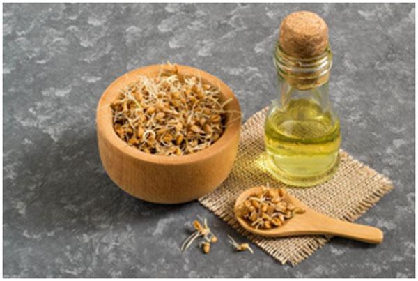 Wheatgerm Oil Treat to Dandruff