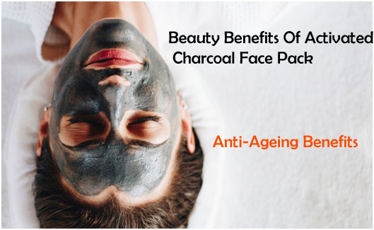 With Activated Charcoal Face Pack - Anti-Ageing Benefits