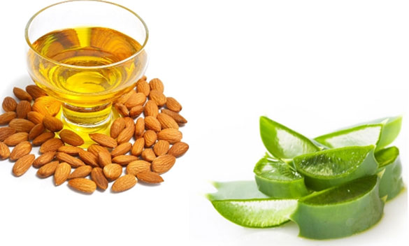 Aloe Vera And Almond Oil Face Pack