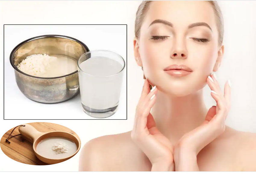 Rice Water For Glossy Skin