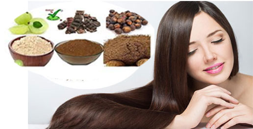 Anti-Hair Fall Pack with Soap Nuts (Reetha), Gooseberry (Amla) And Sikakayi (Acacia Concinna)