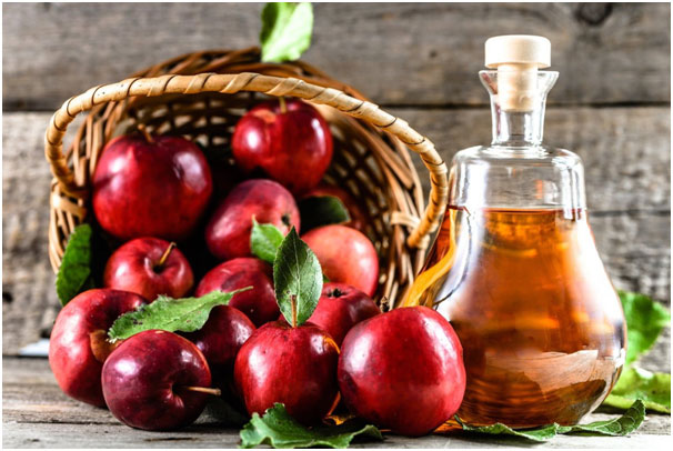 Apple cider Vinegar For Burn