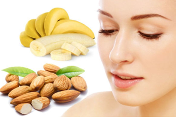 Banana And Almond Face Pack