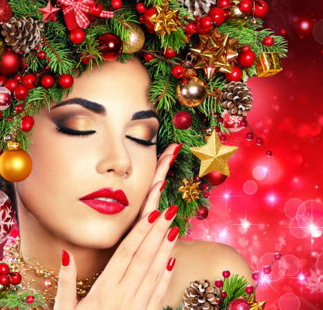 Healthy Glow Up - Beauty Trends For Christmas Festival