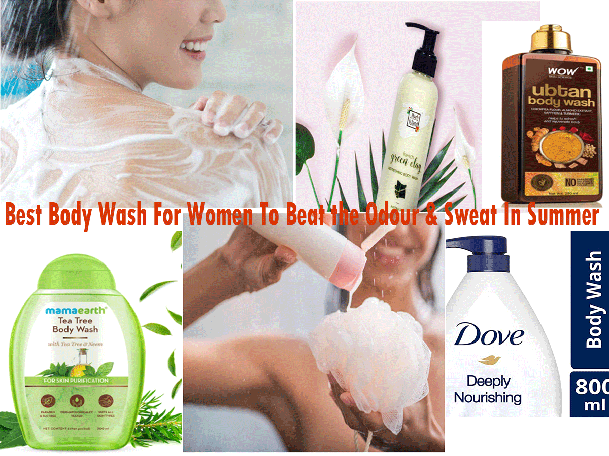 5 Best Body Washes To Beat The Odour & Sweat In Summer   Best Body Wash For Women