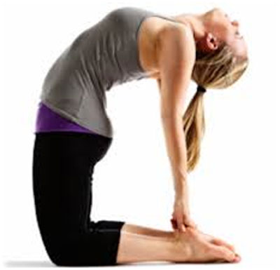 Ustrasana (The Camel Pose) For Hypothyroidism