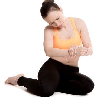 Symptoms of Carpal Tunnel Syndrome in Women - •	Burning sensation