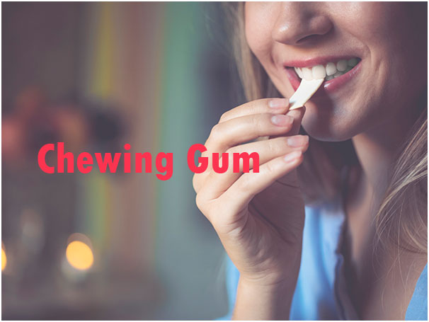Chewing Gum - To To Treat Dry Throat