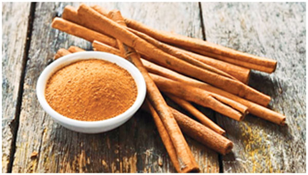Cinnamon is a spice that burns belly fat and keeps it toned